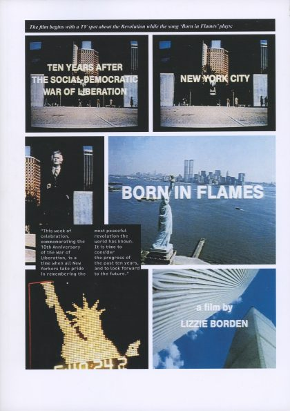 Born in Flames, the authorised graphic translation of Lizzie Borden's 1982 film