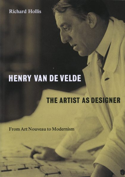 "The cover of ""Henry van de Velde: The Artist as Designer"" by Richard Hollis"